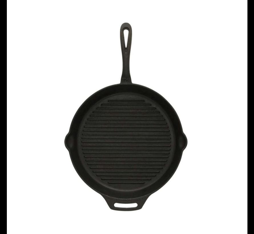 Petromax Cast Iron Grill Skillet 35cm met steel