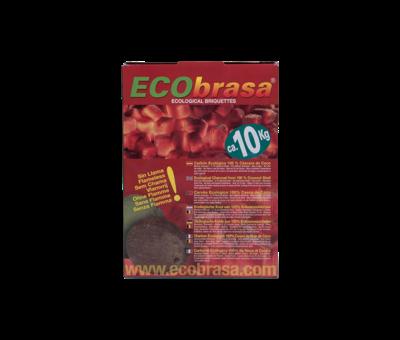 Ecobrasa Ecobrasa Coconut briquettes Cubes 10 kg