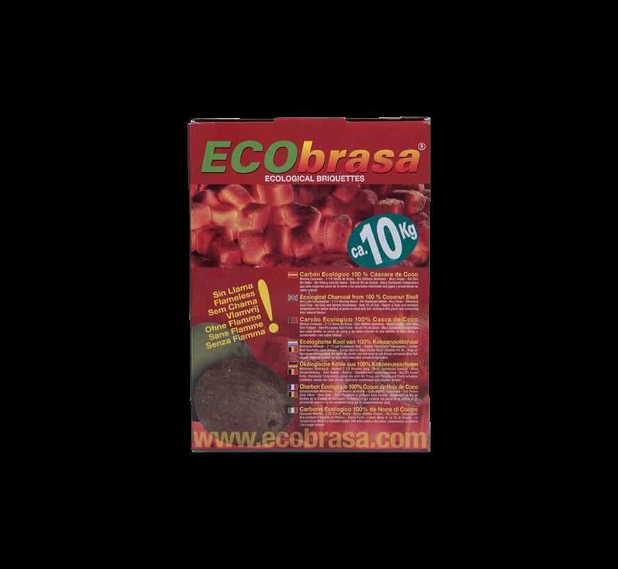 Ecobrasa  Kokosbriketten Cubes 2x10 kg Deal