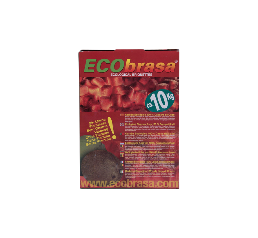 Ecobrasa Kokosbriketten Cubes 10 kg / Wokkels Deal