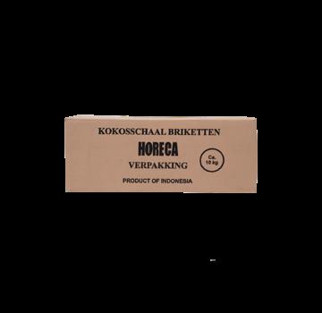 Vuur&Rook Vuur&Rook Coconut Briquettes AA 10 kg (Cubes) By Dammers
