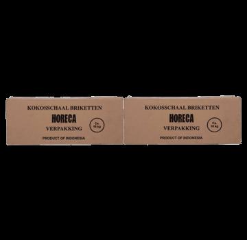 Vuur&Rook Vuur&Rook Coconut Briquettes AA Cubes By Dammers 2x10 kg Deal