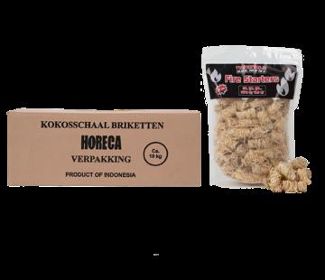 Vuur&Rook Vuur&Rook Kokosbriketten Cubes by Dammers 10 kg  / Wokkels Deal