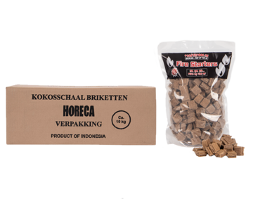 Vuur&Rook Vuur&Rook Kokosbriketten Cubes by Dammers 10 kg / Aanmaakblokjes Deal