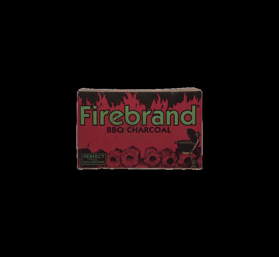 Firebrand Tropical Hardwood Briketten 10 kg (Tubes)