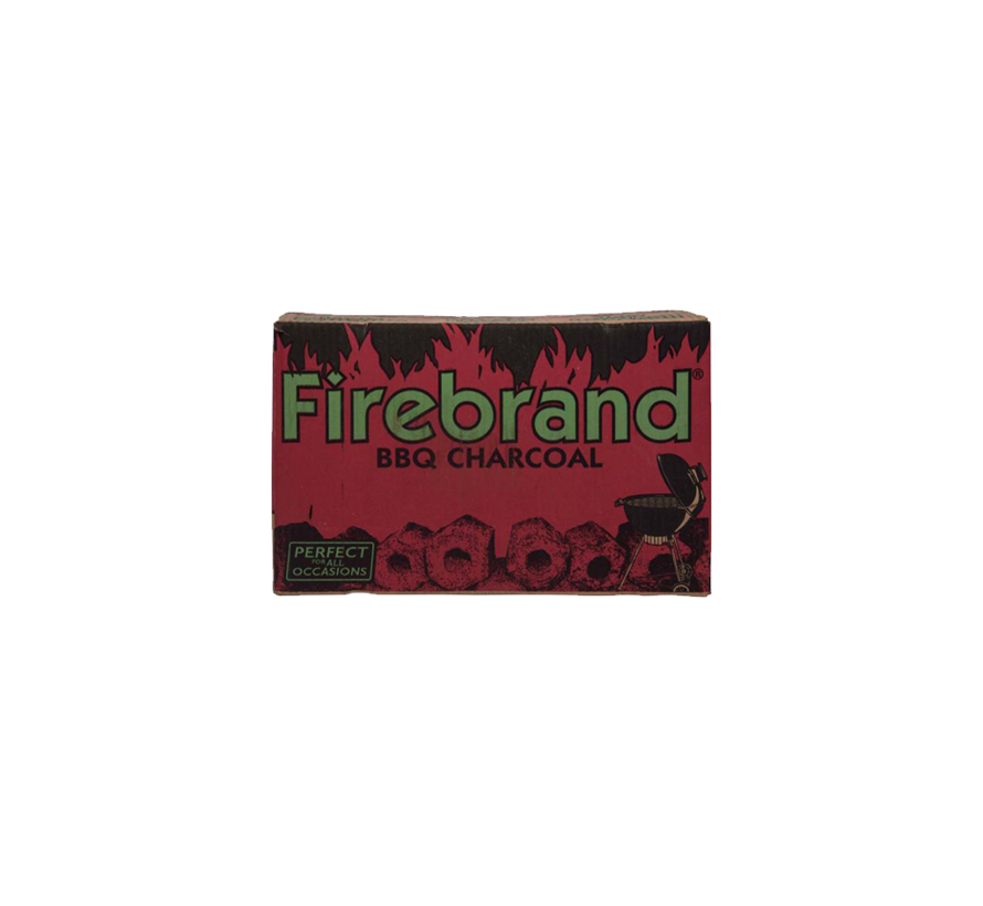 Firebrand Tropische Hartholzbriketts 10 kg (Röhrchen)
