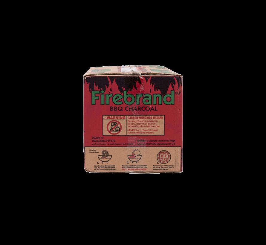 Firebrand Tropical Hardwood Briketten Tubes 10 kg