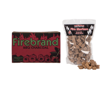 Firebrand Firebrand Tropical Hardwood Briketten Tubes 10 kg / Aanmaakblokjes Deal