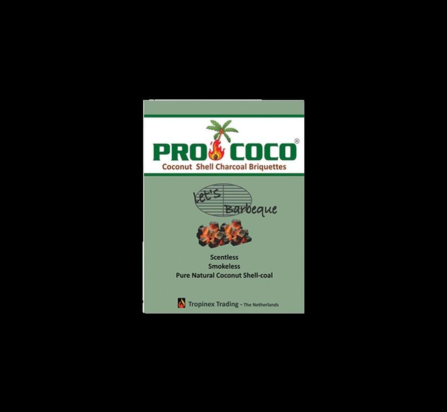 ProCoCo Kokosbriketten Cubes 2 kg / Aanmaakblokjes Deal