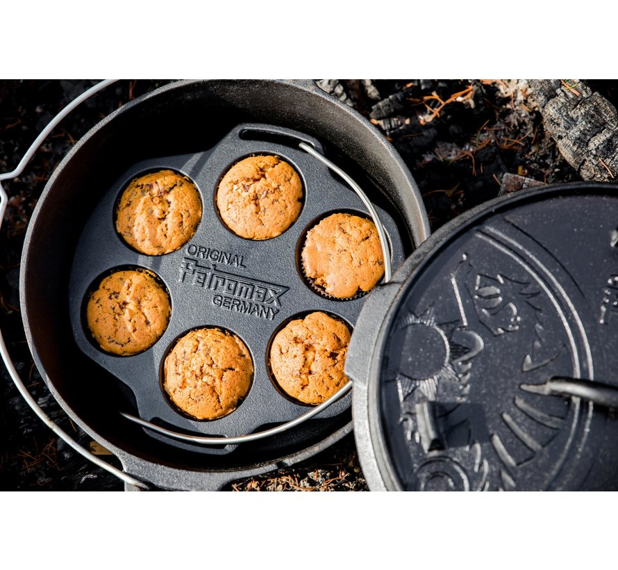 Petromax Cast Iron Muffin Pan