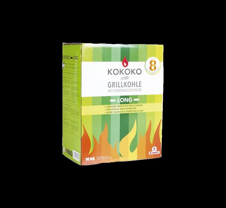 McBrikket KoKoKo Long Tubes 10 kg / Aanmaakblokjes Deal