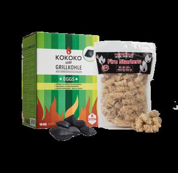 McBrikket McBrikket KoKoKo Eggs Pillow Shape 10 kg / Wooden Fire Starters Deal