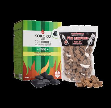 McBrikket McBrikket KoKoKo Eggs / Aanmaakblokjes Deal 10 kg
