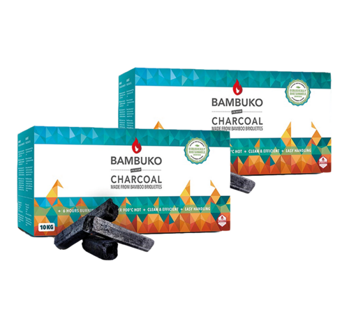 McBrikket McBrikket BamBuko Tubes 2 x 10 kg Deal