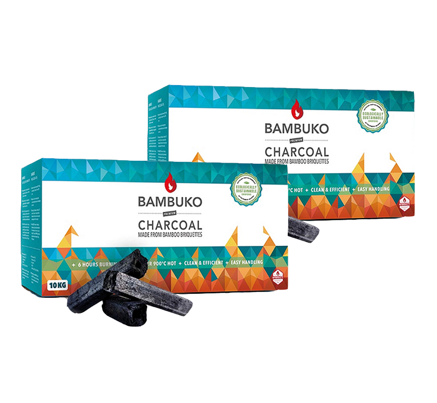 McBrikket BamBuko Tubes 2 x 10 kg Deal