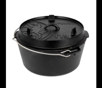 Petromax Petromax 9Quarts / 7,5 Liter Dutch Oven zonder pootjes