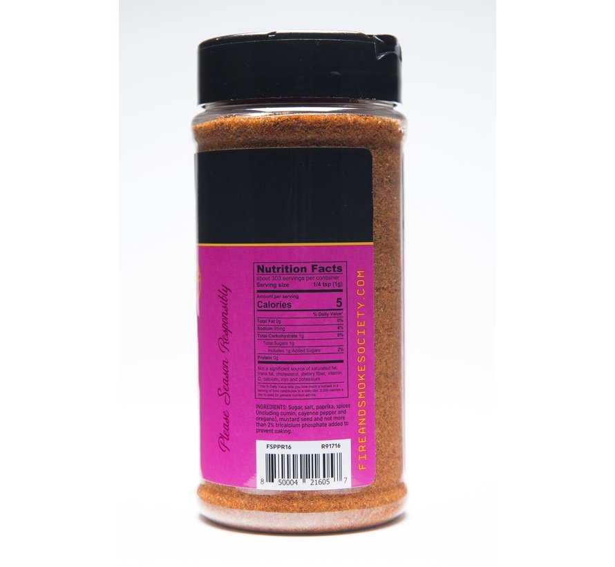 Fire&Smoke Pork Perfect Spice Rub 10.7 oz