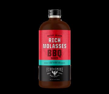 Fire&Smoke Fire&Smoke Messy Beard Stout Beer Coffee & Molasses BBQ Sauce 16.4 oz