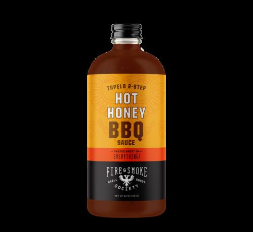 Fire&Smoke Fire&Smoke Tupelo 2-Step Hot Honey BBQ Sauce 16.4 oz