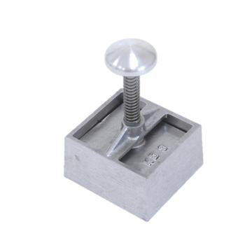 Vuur&Rook Aluminium-Hamburger Presse Quadrat 85 x 95 mm