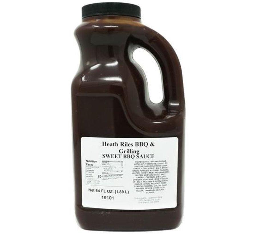 Heath Riles BBQ Sweet BBQ Sauce 1/2 Gallon