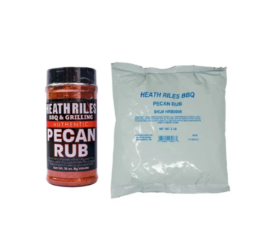 Heath Riles Heath Riles BBQ Pecan Rub Shaker 16 oz + Refill Bag 2 lb Combo