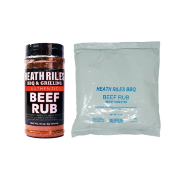 Heath Riles Heath Riles BBQ Beef BBQ Rub Shaker 16 oz + Refill Bag 2 lb Combo