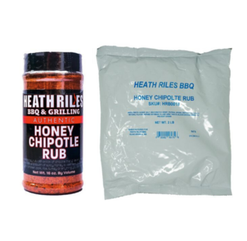 Heath Riles Heath Riles Honey Chipotle BBQ Rub Shaker 16 oz + Refill Bag 2 lb Combo