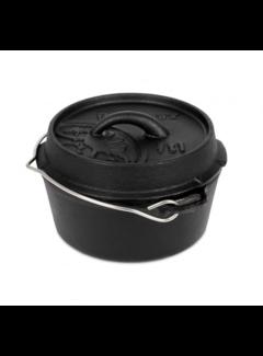 Petromax Petromax 1Quarts / 0.93 Liter  Dutch Oven zonder Pootjes