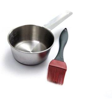 Grillpro Grillpro Marinadepan with Brush