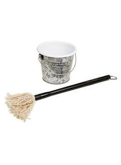 Steven Raichlen Steven Raichlen Sauce Mop Plus Bucket