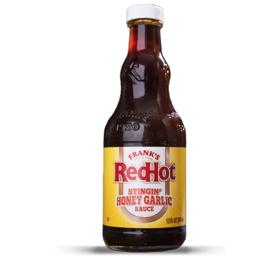 Frank's Red Hot Stingin' Honey Garlic Sauce 12oz