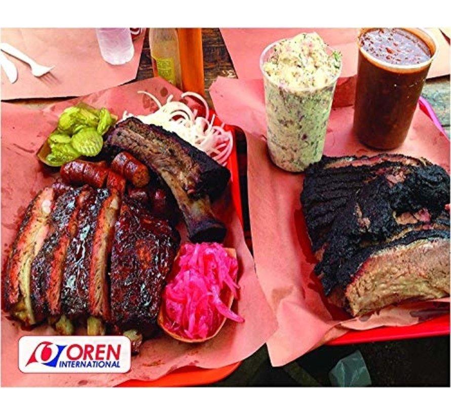 Oren USA Pink Butcher Paper 45 cm x 45 m (18'' x 150')