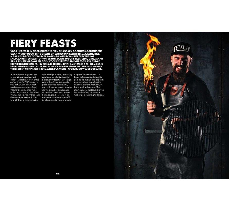 Smokey Goodness BBQ Feast on Fire GESIGNEERD