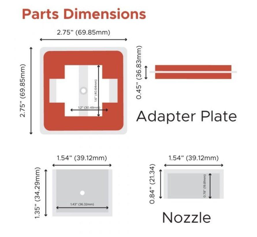FireBoard Drive Blower Nozzle Adapter