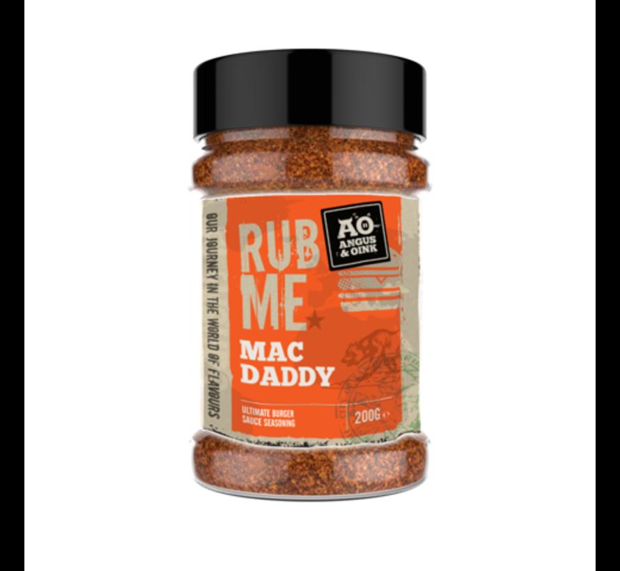 Angus&Oink (Rub Me) Macdaddy Burger Sauce Seasoning 200 gram