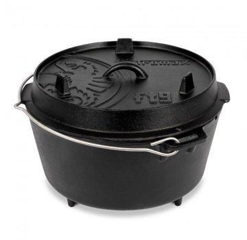 Petromax Petromax 9Quarts / 7,5 Liter Dutch Oven with 3 legs