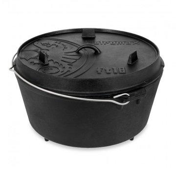 Petromax Petromax 18Quarts / 16,1 Liter Dutch Oven Met 3 Pootjes