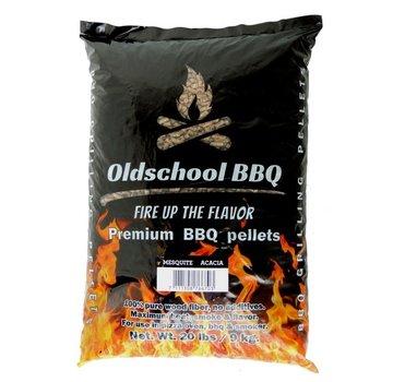Oldschool Oldschool BBQ Pellets Mesquite / Akazie 9 kg