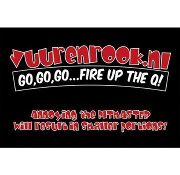 Vuur&Rook Vuur&Rook Logo BBQ mat 100x150cm