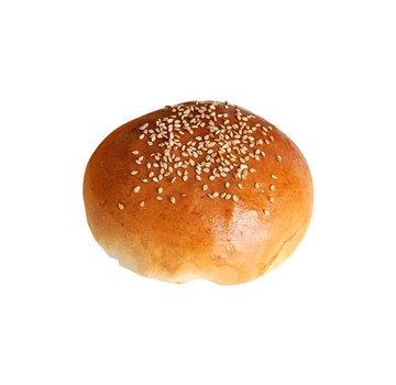 """LA Food Burger Bun Glazed Roasted Sesame Bun 4,5"""" x 45"""