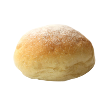 "LA Food Burger Bun White Floured Bap Cut 5"" 48 st"