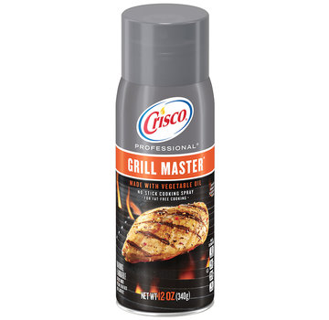 Crisco Crisco Professional Grill Master No Stick Grill Spray Vegetable