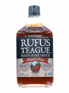 Rufus Teague Rufus Teague Smoke N Chipotle Sugar Free BBQ Sauce 13 oz