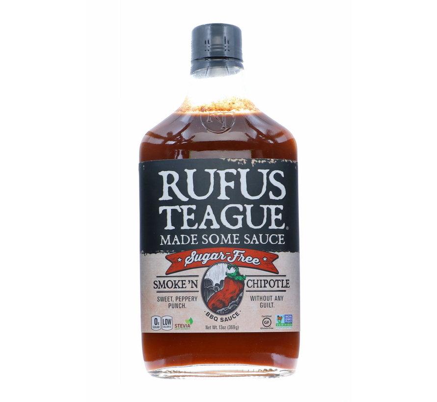 Rufus Teague Smoke N Chipotle Sugar Free BBQ Sauce 13 oz