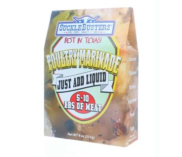 SuckleBusters Sucklebusters Poultry Marinade 4 oz