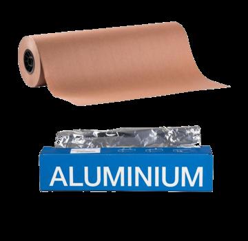 Peach / Butcher Paper 75cm x 50m / Extra Thick Competition Aluminum Foil 150m Deal