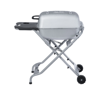 PK Grill PKTX Folding Stand for Original PK Grill + Smoker Classic Silver (Old Small Handle)