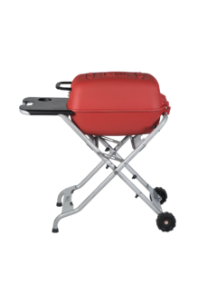 PK Grill PKTX Folding Stand for Original PK Grill + Smoker Limited Edition Matte Red (Old Small Handle)