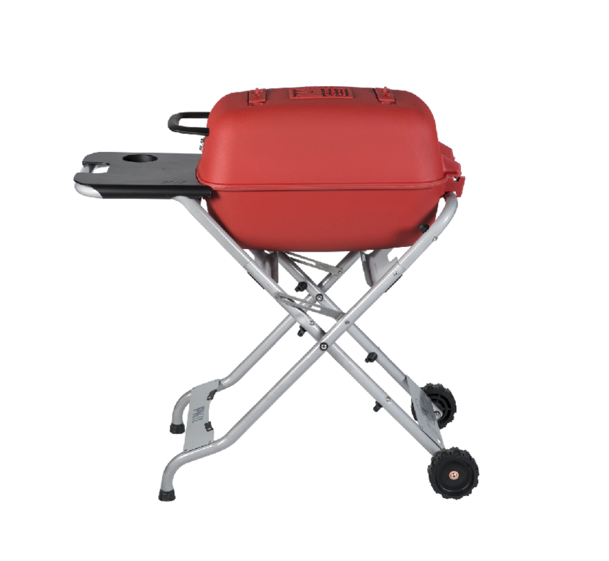 PKTX Folding Stand for Original PK Grill + Smoker Limited Edition Matte Red (Old Small Handle)
